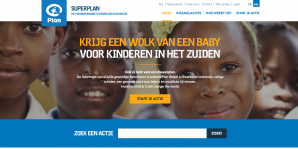 Superplan homepage