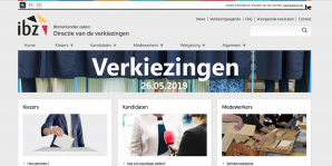Website verkiezingen
